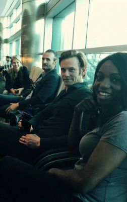 Headed to Dominican Rep to shoot Caught w/ co-stars Tori Anderson, Eric Johnson & Enuka Okuma.                 Photo Credit: Enuka Okuma