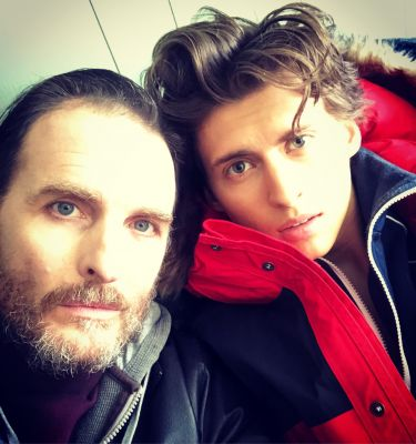Father & son working together again. Photo Credit: Greg Bryk